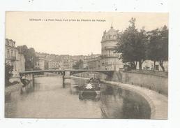 G-I-E , Cp , 55 , VERDUN , Le Pont Neuf , Vue Prise Du Chemin De Halage ,bateau , Péniche , Vierge - Verdun