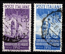 Italie YT N° 561/562 Oblitérés. B/TB. A Saisir!