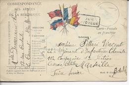 Cpfm Du Cannet Des Maures >< Soldat Au 22° Régt Infant; Coloniale à Marseille Le Destinataire N'a Pu être Atteint