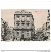 MCATP9372-LFT3510TBAN.Tarjeta Postal DE MURCIA.Edificios.vias De Tranvia Y Personas.BANCO DE ESPAÑA En Cartagena.Murcia. - Bancos