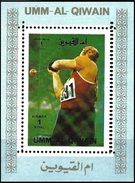 Umm Al-Qiwain 1972 - Munich Olympics : Hammer Throwing ( Mi 940A - YT Xxx ) MNH**- Mini Sheet