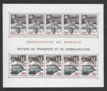 MONACO . YT Bloc 41 Neuf ** Europa. Transport Et Communication 1988