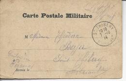 Cp Militaire >< St-Thibéry  1914