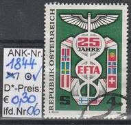 "10.5.1985  -  SM  ""25 Jahre EFTA""  -   O  Gestempelt   -  Siehe Scan   (1844o 06)"