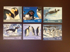 Ross Dependencies 2001 Penguins Birds MNH