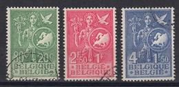 BELGIE : 927-29 – Idée Européenne - European Idea (1953)  - (0)