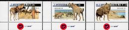 Namibia - 2016 - Large Canines Of Namibia - Mint Stamp Set