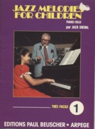 JAZZ MELODIES FOR CHILDREN  - PIANO  - Jack DIEVAL - Edition Paul BEUSCHER - Etude & Enseignement