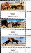 Namibia - 2016 - Wild Horses - Mint Stamp Set