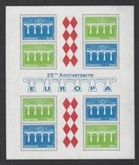 MONACO . YT Bloc 28 Neuf ** Europa. 25e Anniversaire De La CEPT 1984