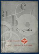 """Libretto Agfa """"A B C Della Fotografia"""" Anni '40 - Libri, Riviste, Fumetti"""