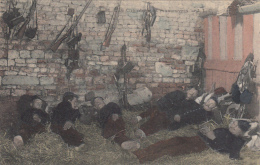 Militaria -  Une Chambre En Manoeuvres - Armes Fusils - Manovre