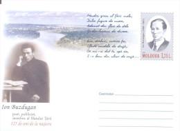 """2014. Prep. Env. """"Ion Buzdugan, Moldavien Poet"""", Mint/** - Moldova"""