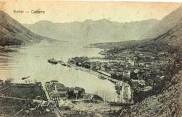 MONTENEGRO KOTOR CATTARO - Montenegro