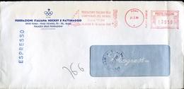 18718 Italia, Circuled Red Meter/freistempel/ema/ Roma 1989, Fin Class,world Sailing Champ./alassio/ 1989