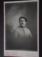 SOLDAT CONDUCTEUR - Photo Véritable - Par Midget, Mignon, Photographie à Lyon (Rhône) - Guerre 1914-18 - WW1 - A Voir !