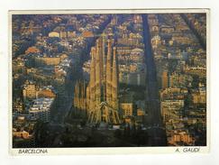 Cpsm N° 123/3 BARCELONA Emple De La Sagrada Familia - Barcelona