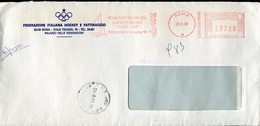 18720 Italia, Circuled Red Meter/freistempel/ema/ Roma 1989, Star Class,world Sailing Champ./porto Cervo 1989
