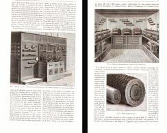 DISTRIBUTION DE L'ENERGIE ELECTRIQUE PAR LES COURANTS ALTERNATIFS à PARIS  (éclairage De La BELLE-JARDINIERE )  1898 - Non Classés