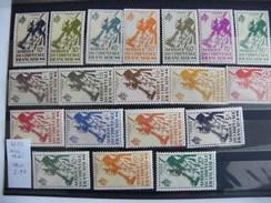 Serie De 19  Timbres Neufs  Afrique Occidentale Française N° 4 - Poste Aérienne