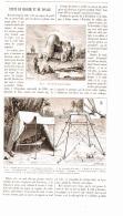 TENTE DE MARCHE ET DE VOYAGE  1892 - Camping