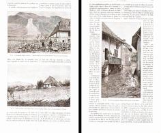 L'EBOULEMENT D'ARBIN  1892 - Non Classés