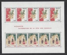MONACO . YT Bloc 19 Neuf ** Europa. Célébration De La Fête Des Rameaux 1981