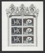 MONACO . YT Bloc 61 Neuf ** Europa. Art Contemporain 1993