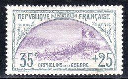 N° 152 Neuf** (Orphelins)  COTE= 595 Euros !!!