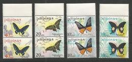 2x PILIPINAS - MNH - Animals - Insects - Butterflies