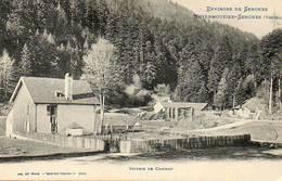 CPA - Environs De SENONES Et De MOYENMOUTIER (88) - Aspect De La Scierie De Coichot Au Début Du Siècle - France