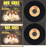 BEE GEES More Than A Woman\children Of The World - Disco, Pop