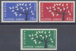 Zypern, MiNr. 215-217, Postfrisch / MNH