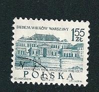 N° 1455 Sept Cent Ans De Varsovie  700 Jaar Warschau Timbre  Pologne Oblitéré  Polska 1965