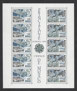 MONACO . YT Bloc 52 Neuf ** Europa. L'Europe Et L'espace 1991