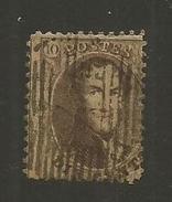 1863 - COB N° 14A - Dent. 12 1/2 X 13 1/2 - Oblitéré ?? - CURIOSITE De FORMAT - Voir Description
