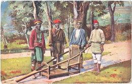 DARJEELING. Dandy And Bearers. 9091 - Indien