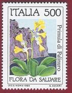 1985 - Nature Protection- Palinuro Primula - Yt:IT 1659 - MNH