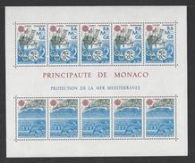 MONACO . YT Bloc 34 Neuf ** Europa. Protection De La Nature Et De L'environnement 1986