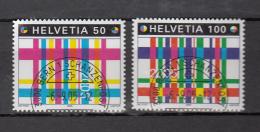 2005  N° 1179 - 1180  OBLITERATION  DEMI LUNE  CATALOGUE  ZUMSTEIN - Schweiz