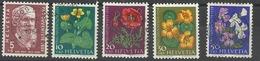 SUISSE N° 636 à 638 - 1959