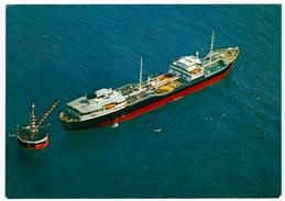 NAVI - BARCHE - MARINA DI RAVENNA - ISOLA D'ACCIAIO DELLA SAROM A Km 6 DALLA SPIAGGIA - 1971 - Barche