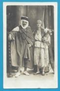 """Algérie -  Belle Carte Photo D'un Couple En """"habits Du Pays"""" Chez Photo Max à Alger"""