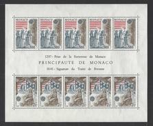 MONACO . YT Bloc 22 Neuf ** Europa. Faits Historiques 1982