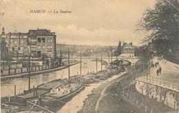 NAMUR / LA SAMBRE / LE PONT ET LES PENICHES
