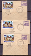 PAKISTAN 2012 FIRST Day On A Special Post Mark Cover , 50TH ANNI STATE VISIT KING & QUEEN OF THAILAND, Combination Cover
