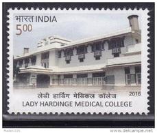 INDIA, 2016, Lady Hardinge Medical College, Architecture, Education, MNH, (**)