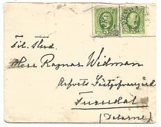 SUEDE LETTRE DU 1/1/1905
