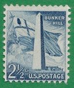 United States - 1954-80 - Bunker Hill - Scott #1034  - MH
