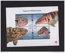 S/s PORTUGAL 2016 FISH OF MEDITERRANEAN SEA LIFE FAUNA NATURE POISSON Z1